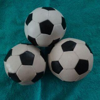 サッカーボール おもちゃ 3個(ボール)