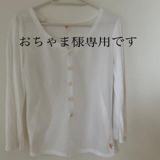 フォーティーファイブアールピーエム(45rpm)の45rpm Tシャツ素材 カーディガン(シャツ/ブラウス(長袖/七分))
