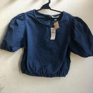 アメリカンイーグル(American Eagle)のアメリカンイーグル 半袖 デニム ブラウス(シャツ/ブラウス(半袖/袖なし))