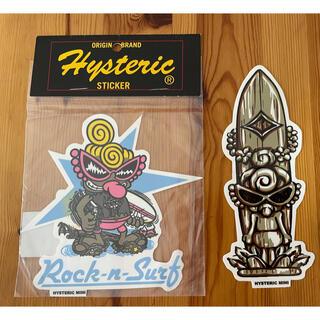 HYSTERIC MINI -  Hysteric Mini   ステッカー2枚