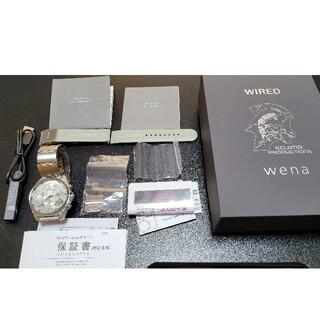 ソニー(SONY)のwena wrist pro KOJIMA PRODUCTIONS(腕時計(アナログ))