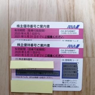 ANA株主優待券2枚(その他)