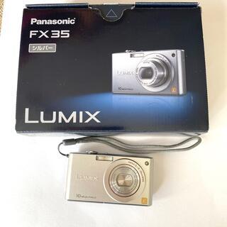Panasonic - パナソニック デジタルカメラ LUMIX FX35 シルバー
