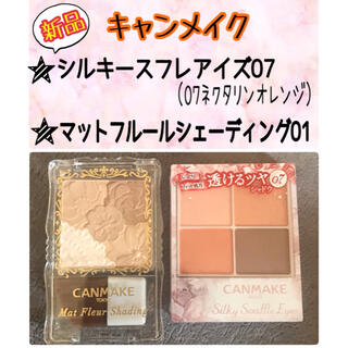 CANMAKE - 【新品】CANMAKEコスメ2点セット