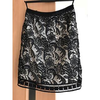 ANAYI - ANAYI レーススカート サイズ36、ブラック