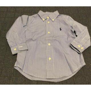 Ralph Lauren - ラルフローレン ストライプシャツ 90