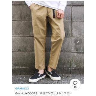 DOORS / URBAN RESEARCH - DOORS別注GRAMICCI ワンタックトラウザー