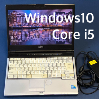 富士通 - 富士通LIFEBOOK S560/A Windows10 B5ノートパソコン