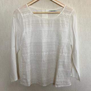 グローバルワーク(GLOBAL WORK)のシャツTシャツブラウス(Tシャツ(長袖/七分))