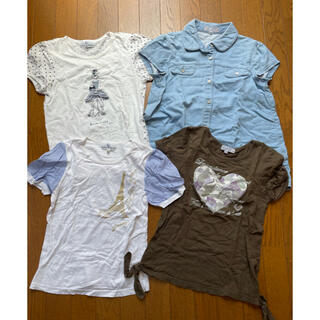 クミキョク(kumikyoku(組曲))の組曲(夏物)子供服4点セット(140-150)(その他)