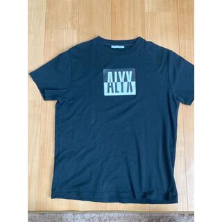 オフホワイト(OFF-WHITE)のALXY アリクス アリュクス Tシャツ サイズM(Tシャツ/カットソー(半袖/袖なし))