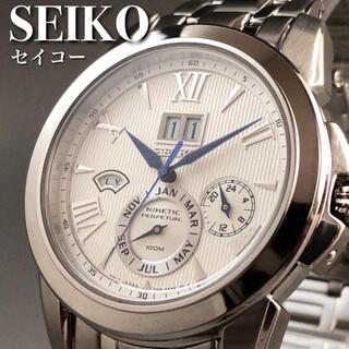 セイコー(SEIKO)の★定価7万円★キネティック/セイコー/クロノグラフ/メンズ腕時計AS987(腕時計(アナログ))