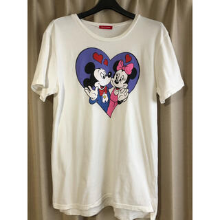 メリージェニー(merry jenny)のmerry jenny ミッキー ミニー Tシャツ ワンピ(Tシャツ(半袖/袖なし))