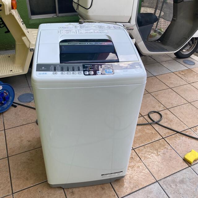 日立(ヒタチ)の洗濯機  2013年製 スマホ/家電/カメラの生活家電(洗濯機)の商品写真