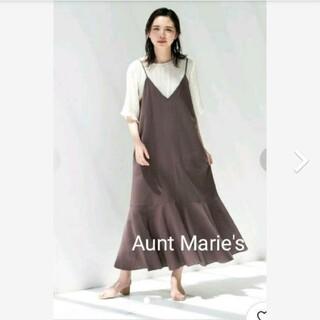 Aunt Marie's - アントマリーズリネンキャミワンピース