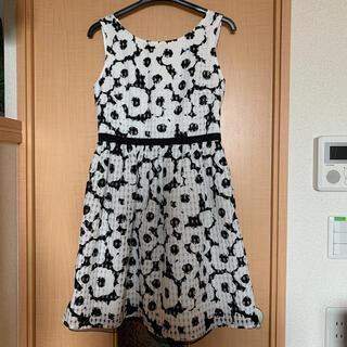 プロポーションボディドレッシング(PROPORTION BODY DRESSING)のワンピース 白×黒(ミニワンピース)