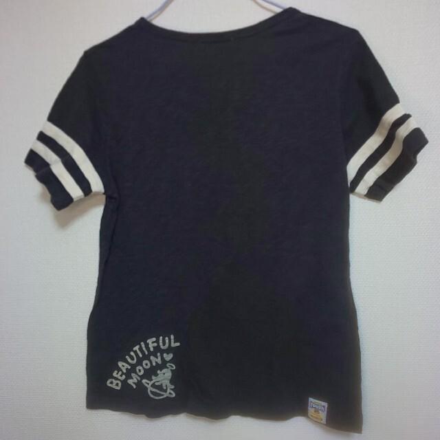 rough(ラフ)の最終値下げ美品★rough★パンダ宇宙飛行士Tシャツ レディースのトップス(Tシャツ(半袖/袖なし))の商品写真