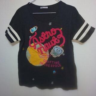 ラフ(rough)の美品★rough★パンダ宇宙飛行士Tシャツ(Tシャツ(半袖/袖なし))