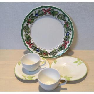 ビレロイ&ボッホ - Villeroy & Boch ティーカップ & ソーサー、大皿 未使用