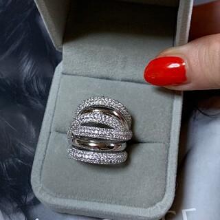 スワロフスキー(SWAROVSKI)のスワロフスキーgem ストーンリング指輪(リング(指輪))