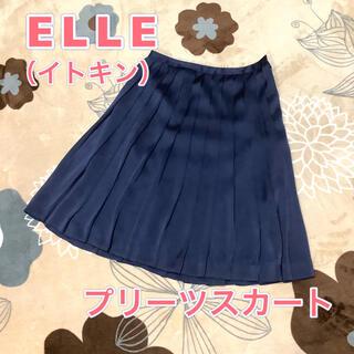 エル(ELLE)のプリーツスカート ELLE(エル) イトキン(ひざ丈スカート)