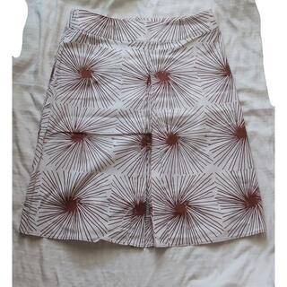 マリメッコ(marimekko)の【marimekko】古着スカート(ひざ丈スカート)