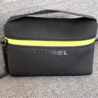 DIESEL - Dieselトラベルポーチ・ブラック・男女兼用