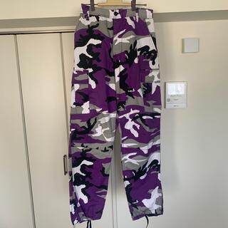 ロスコ(ROTHCO)のRothco ロスコ カーゴパンツ 紫 迷彩(ワークパンツ/カーゴパンツ)