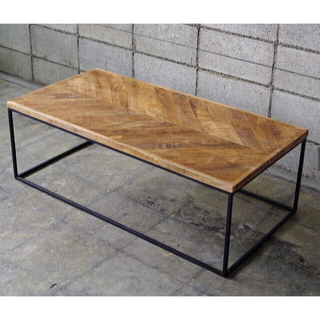 JOURNAL STANDARD - life furniture HERRINGBONE TABLE