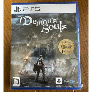 プレイステーション(PlayStation)のPS5 Demon's Souls デモンズソウル プレイステーション5(PCゲームソフト)