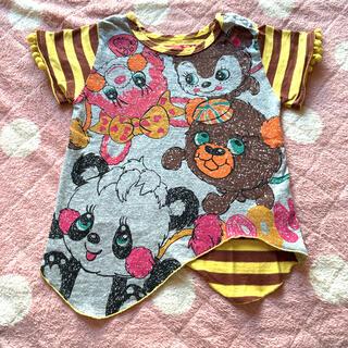 グラグラ(GrandGround)のグラグラ ポンポン付きTシャツ(Tシャツ)