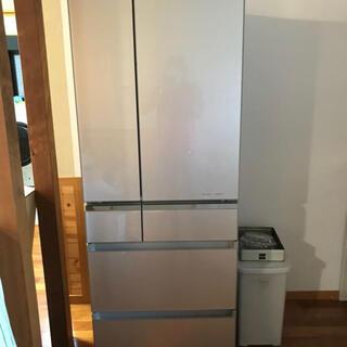 パナソニック(Panasonic)のPanasonic冷凍冷蔵庫 NR-F510PV-N 508L 【2014年製】(冷蔵庫)