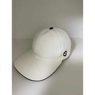 グッチ(Gucci)のグッチ キャップ 帽子 白(キャップ)