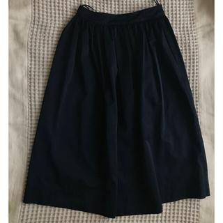 ザラ(ZARA)の紺色 ネイビー スカート(その他)