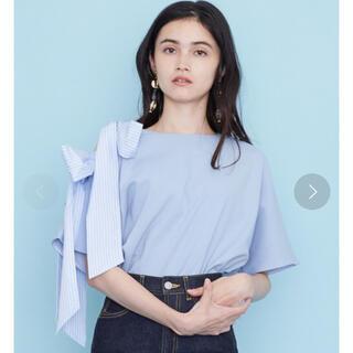 ステュディオス(STUDIOUS)のUnitedTokyo☆アシメオープンショルダーリボントップス(Tシャツ(半袖/袖なし))