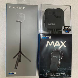 ゴープロ(GoPro)のGoPro MAX、FUSION GRIP セット【極美品】(コンパクトデジタルカメラ)