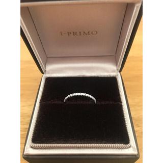 4℃ - お値下げ❤️I-PRIMO アイプリモ ハーフエタニティリング 10号❤️結婚