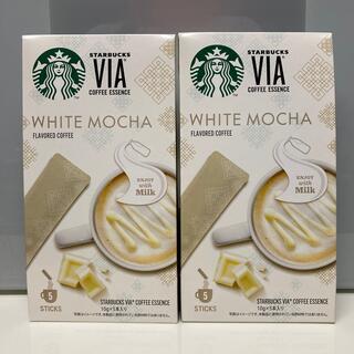 Starbucks Coffee - 10本 ホワイトモカ VIA  スターバックス