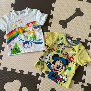 ディズニー(Disney)のディズニー Tシャツ 80cm(Tシャツ)