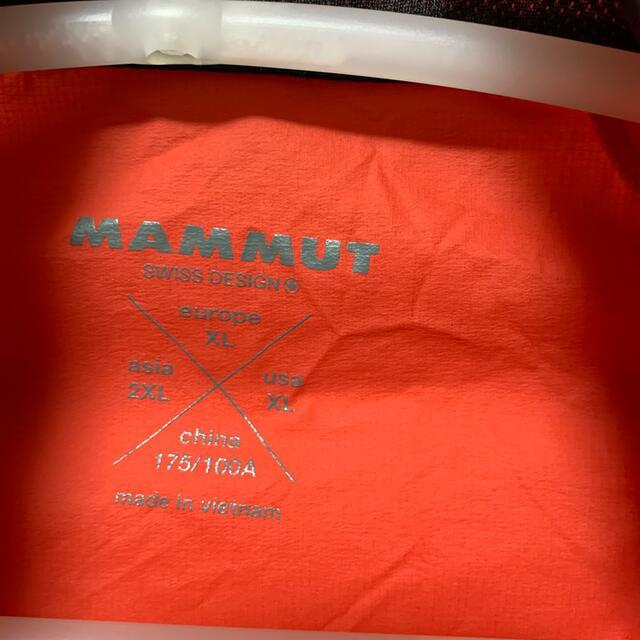 Mammut(マムート)のマムート  ウィンドジャケット XL メンズのジャケット/アウター(ナイロンジャケット)の商品写真