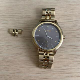 ニクソン(NIXON)のNIXON THE SALA 38 mm ゴールド(腕時計)