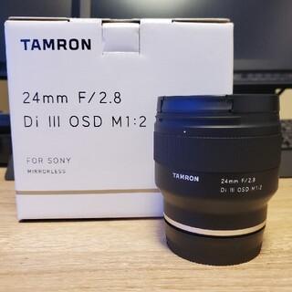 タムロン(TAMRON)のTAMRON 24mm F/2.8 Di III OSD M1:2 Model (レンズ(単焦点))