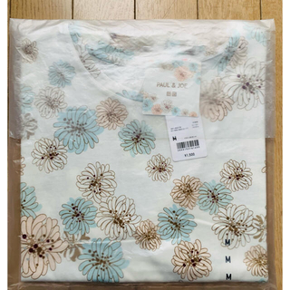 ポールアンドジョー(PAUL & JOE)のMサイズ ユニクロ ポール&ジョー UTグラフィックTシャツ ホワイト(Tシャツ(半袖/袖なし))