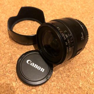 キヤノン(Canon)のcanon純正レンズ EF 24mm F2.8(レンズ(単焦点))