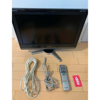 アクオス(AQUOS)の【お値下げ中】SHARP AQUOS D D50 LC-20D50-B(テレビ)