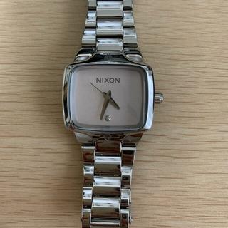 ニクソン(NIXON)のNIXON THE SMALL PLAYER 33 mm シルバー(腕時計)