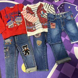 ダブルビー(DOUBLE.B)のダブルB 長袖、トレーナー、パンツ90(Tシャツ/カットソー)