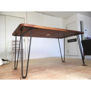 フランフラン(Francfranc)のアカシア天然木材 ダイニングテーブル(ダイニングテーブル)