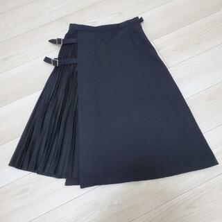 アウラアイラ(AULA AILA)のアウラアイラ♡サイドプリーツスカート(ひざ丈スカート)