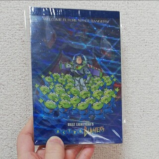 ディズニー(Disney)のディズニーランド メモ帳 バズライトイヤー 新品未開封(ノート/メモ帳/ふせん)